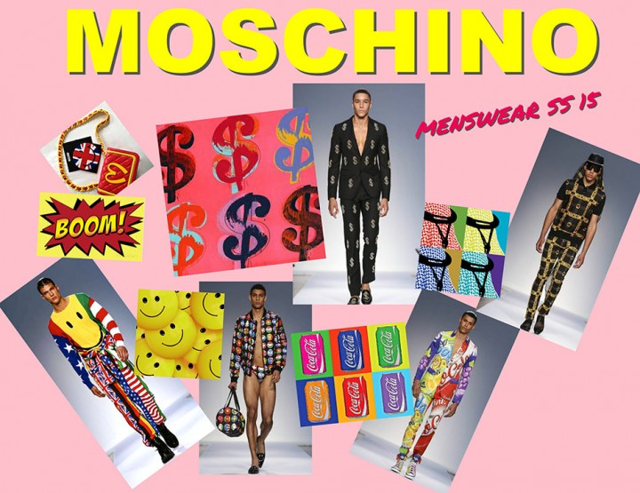 MOSCHINO MAN FASHION SHOW
